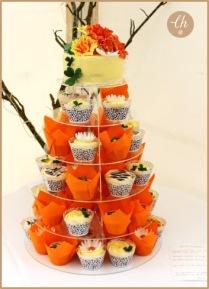 Afro Irish Wedding Cake