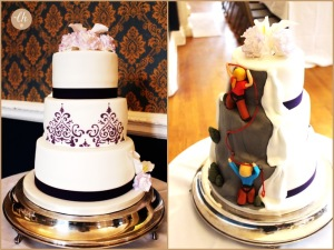 Mountaineering Wedding Cake